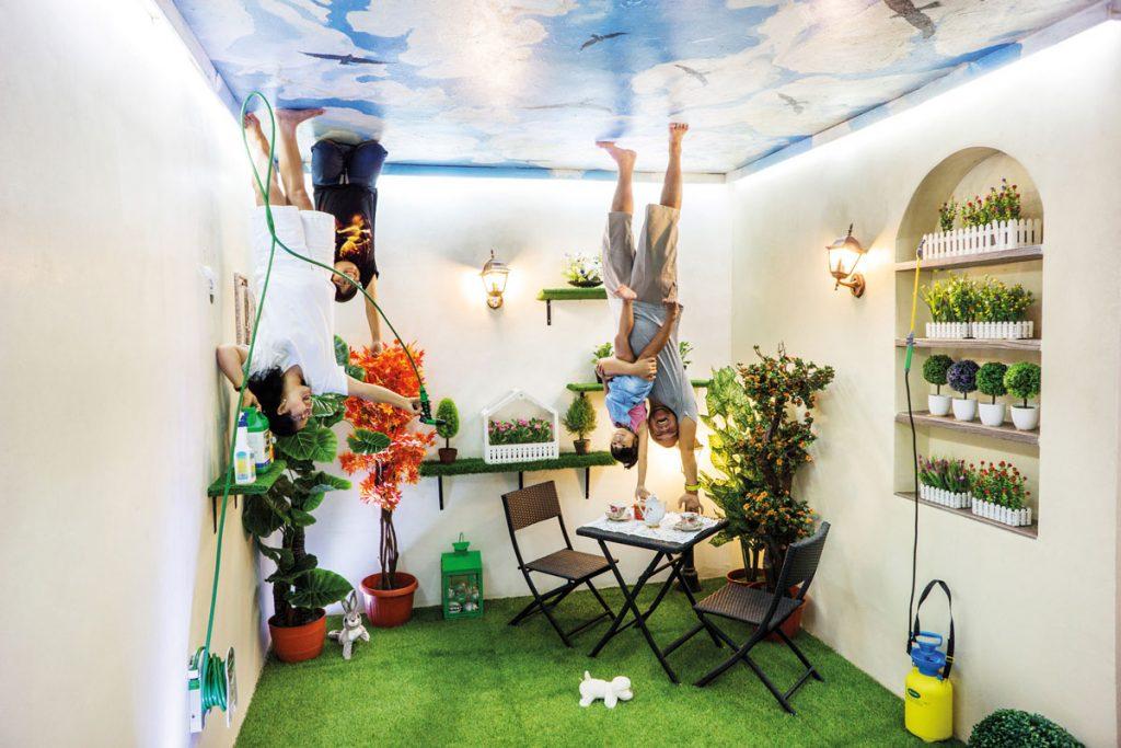 Upside World 180 Degrees Fun Bali Ordinary Gallery Opened Door