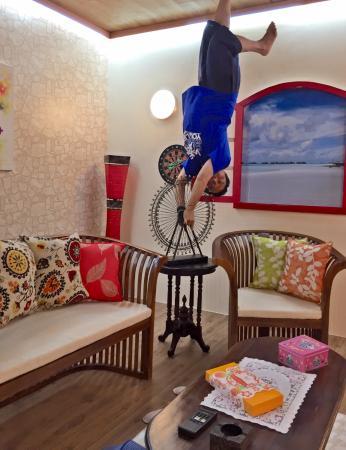 Yoga Pose Picture Upside World Bali Tripadvisor Kota Denpasar