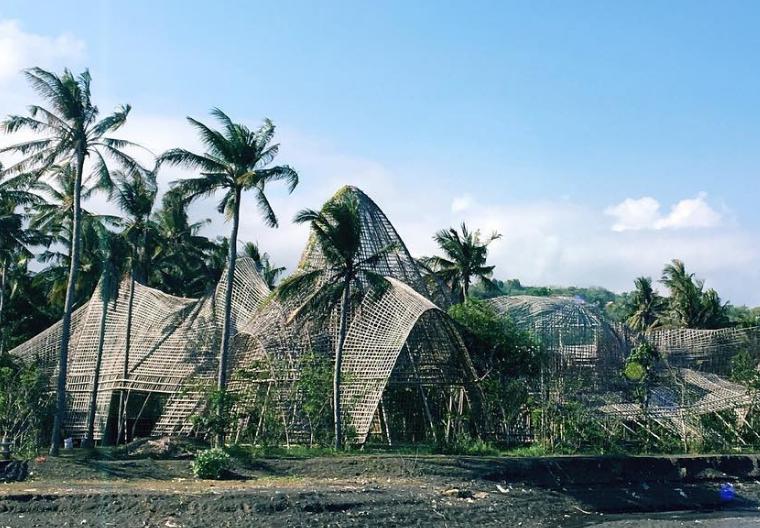 36 Tempat Wisata Bali Instagramable Hits Dikunjungi Rumah Bambu Pengalon