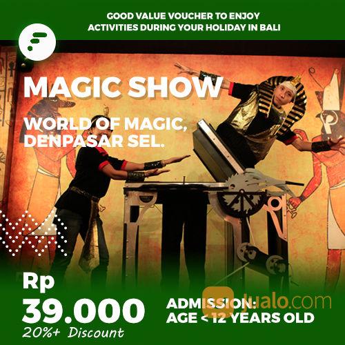 Magic Show Kid Voucher Fitaccess Bali Denpasar Jualo Vouc Hobi