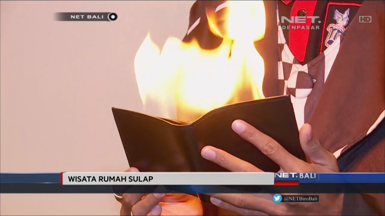 Net Bali Belajar Trik Rumah Sulap Youtube Wahana Kota Denpasar