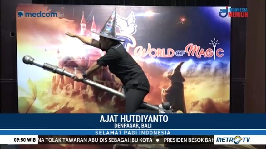 Selamat Pagi Indonesia Berkunjung Wahana Sulap Pertama Rumah Kota Denpasar