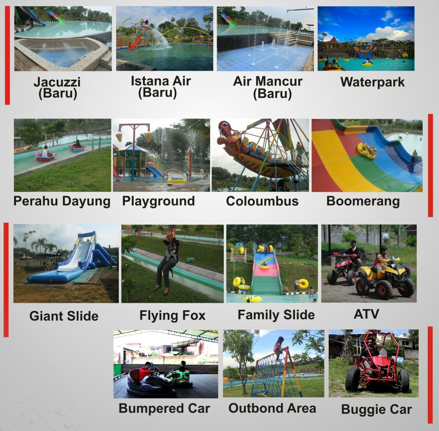 Tempat Obyek Wisata Joglo Park Pacet Air Terlengkap Mojokerto Jawa
