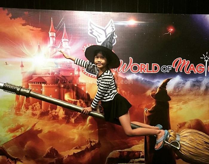 World Magic Kids Holiday Spots Liburan Anak Informasi Wahana Rumah