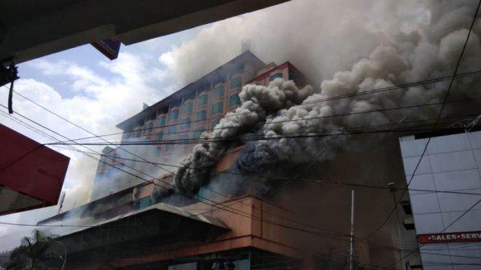 10 Jam Kebakaran Hotel Novita Jambi Padam Sempat Dengar Jeritan