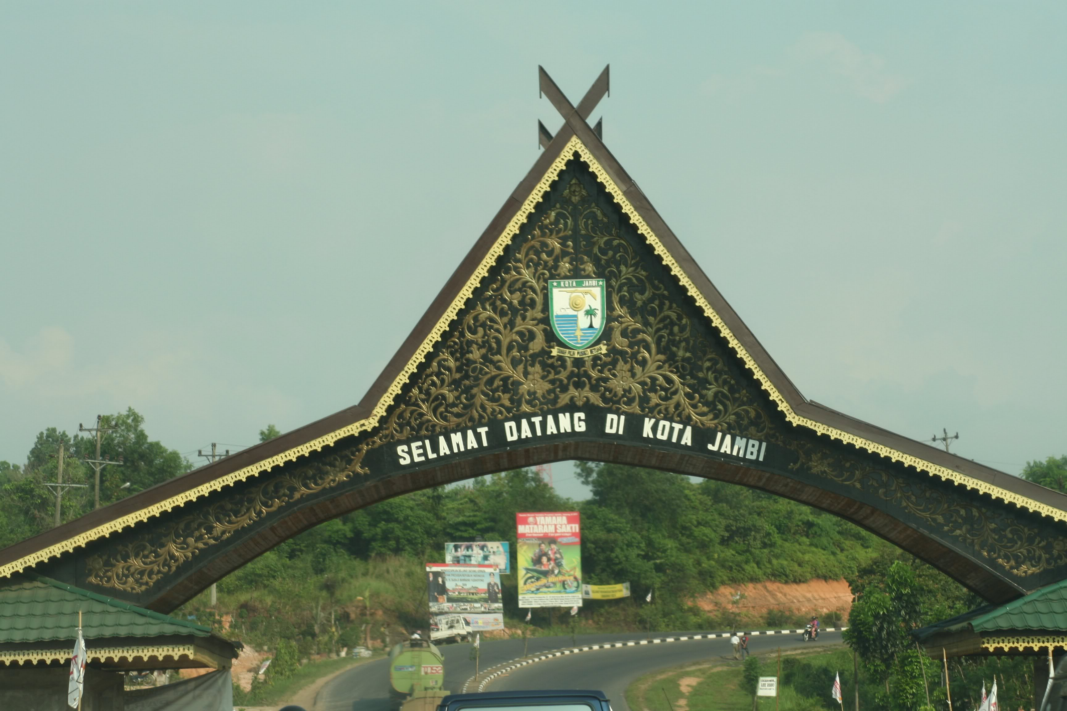 Dudi Gurnadi Catatan Perjalanan Lintas Timur Sumatera Jambi Bali Kota