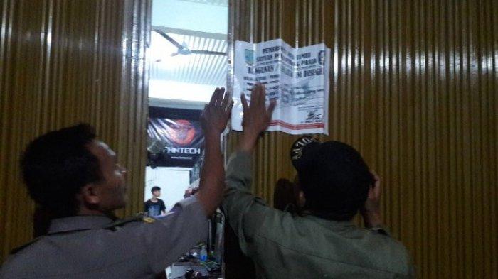 Satpol Pp Segel Lima Warnet Kota Jambi Tribun Bali