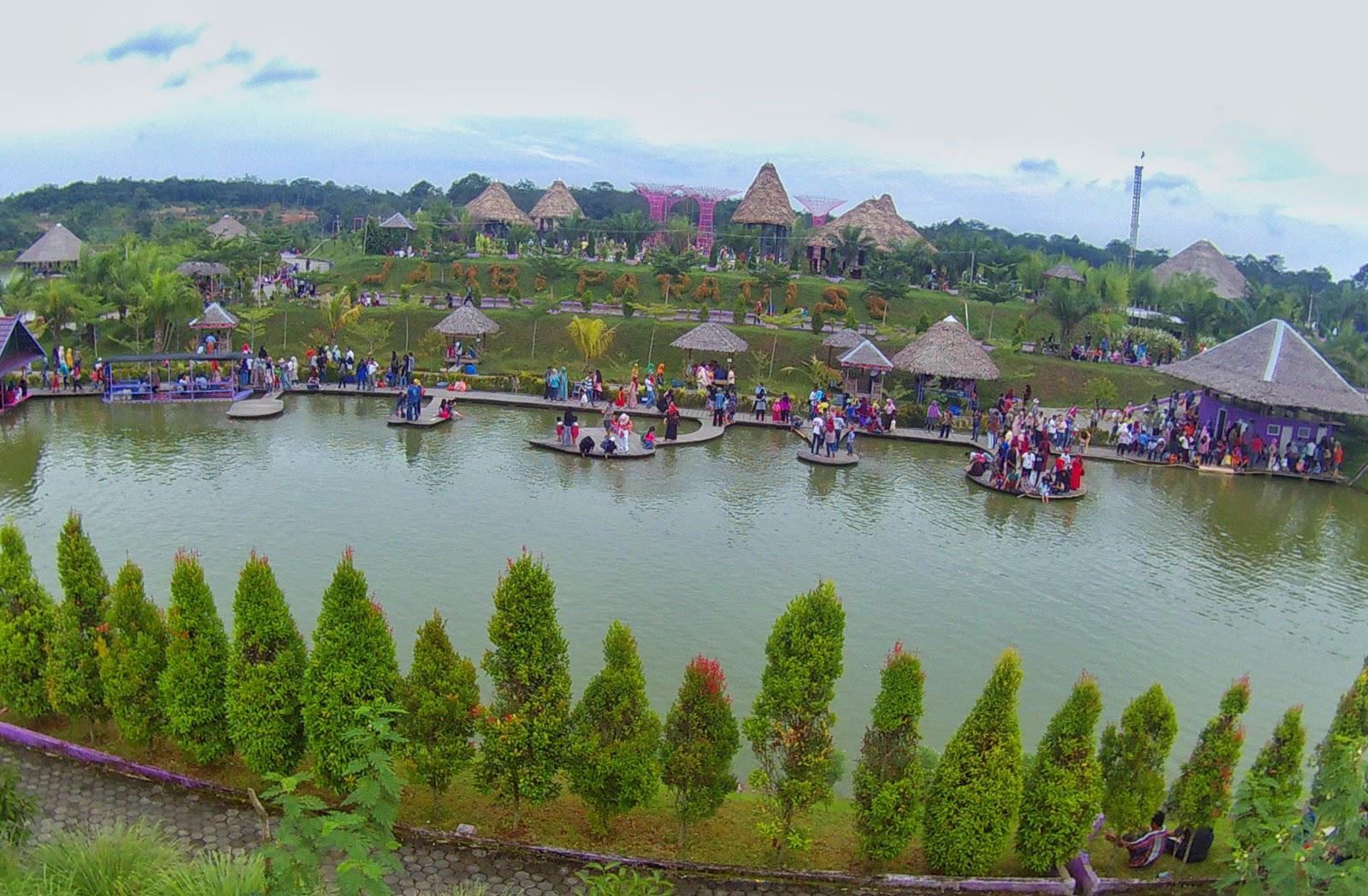 Destinasi Kekinian Kota Jambi Paradise Tempat Wisata
