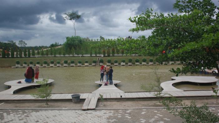 Jambi Paradise Gunung Kerinci Taman Wisata Memang Tribun Kota