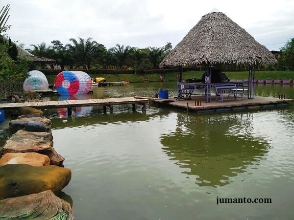 Jambi Paradise Tempat Wisata Kota Asyik Banget Buat Balon