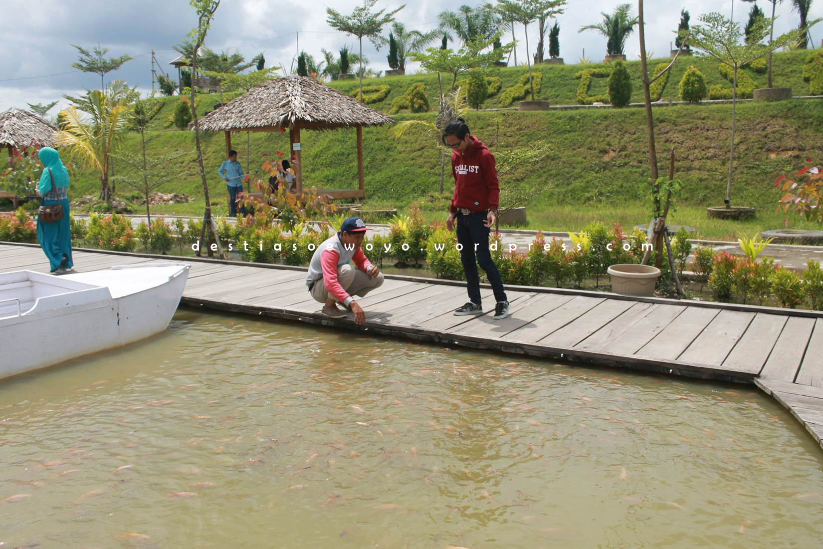 Jambi Paradise Wisata Taman Explore Architecturediary Relawan Gokil Kota