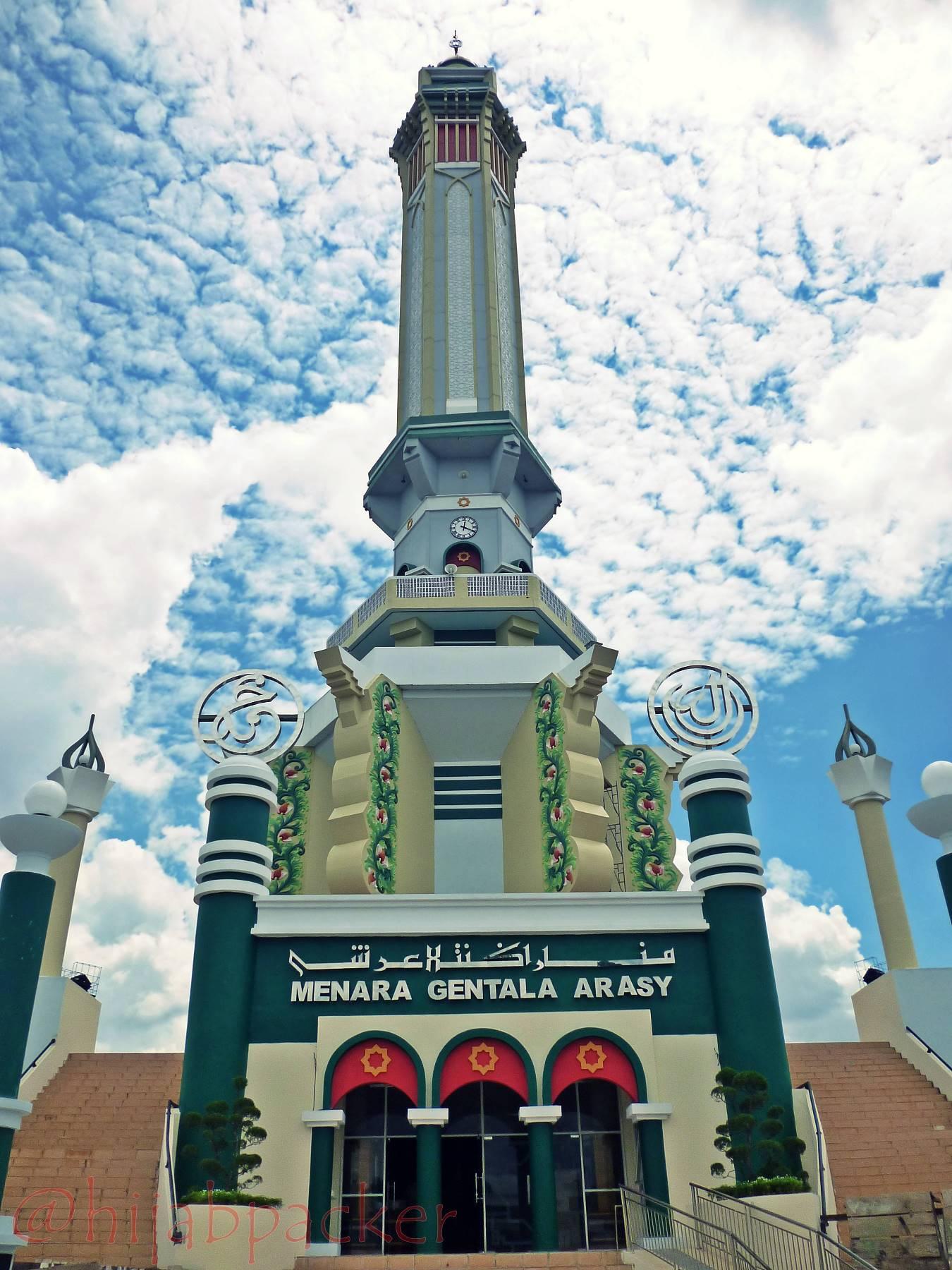 Gentala Arasy Ikon Kota Jambi Hijabpacker Jembatan Pedestrian