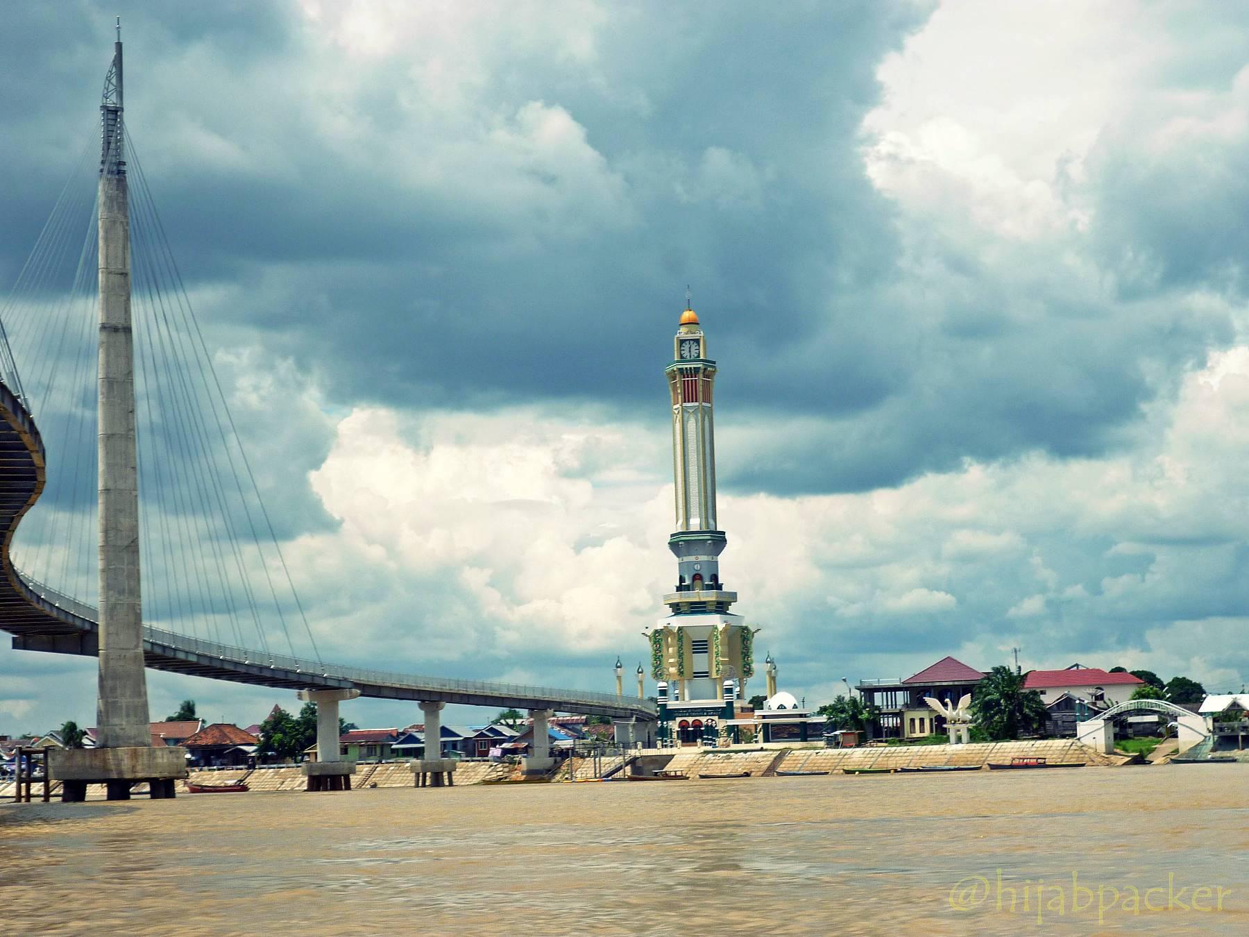 Gentala Arasy Ikon Kota Jambi Hijabpacker Total Panjang Jembatan 532