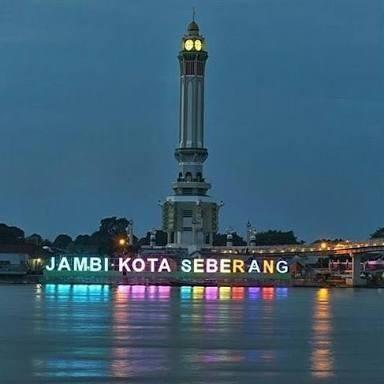 Gentala Arasy Jembatan Menara Ikon Kota Jambi Steemkr Pedestrian