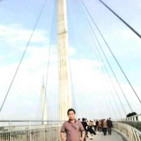 Gentala Arasy Pedestrian Bridge Picture Jembatan Kota Jambi