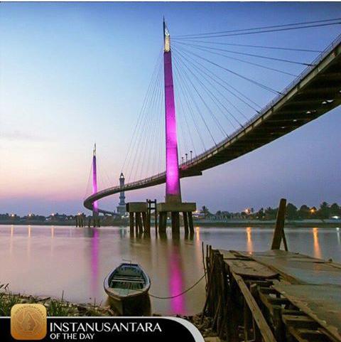 Hallo Icon Gentala Arasy Mesin Memori Image Jembatan Pedestrian Kota