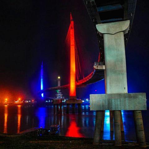 Jambi Taujambi Instagram Photos Videos Icon Kota Jembatan Pedestrian Menara