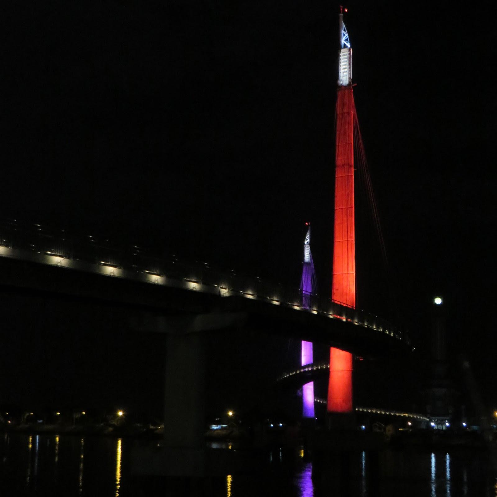 Jembatan Gantung Pedestrian Menara Gentala Arasy Buah Pikiran Berjalan Kota