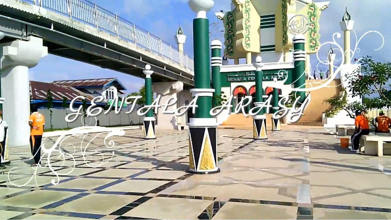 Menara Gentala Arasy Jembatan Pedestrian Ikon Kota Jambi Youtube