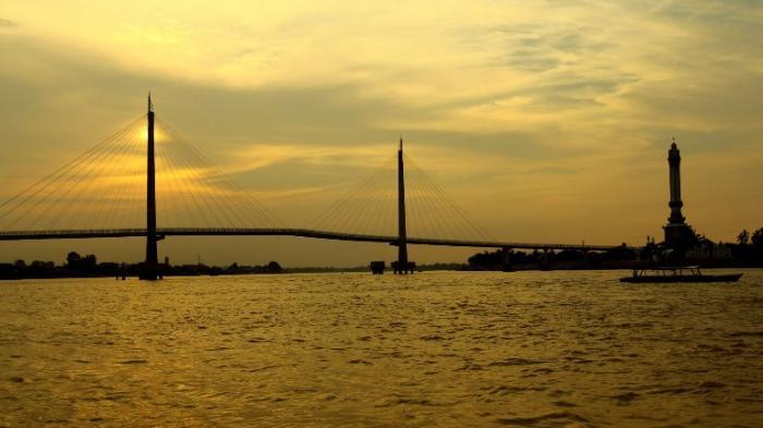 Pemprov Jambi Tegaskan Pemilik Gentala Arasy Tribun Jembatan Pedestrian Kota