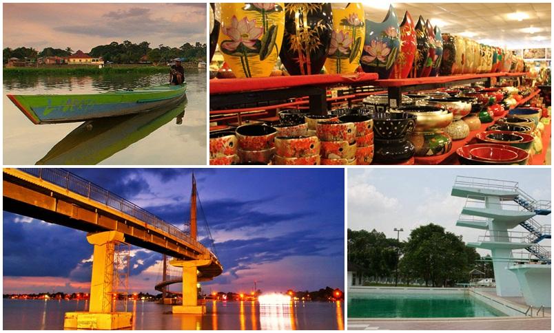 6 Tempat Wisata Jambi Menakjubkan Kolam Renang Tepian Rajo Kota