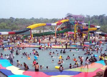 Pariwisata Dunia Kabupaten Bungo Misalnya Taman Pusparagam Kota Depan Hotel