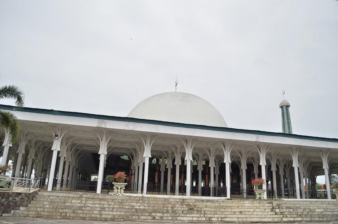10 Objek Wisata Kota Jambi Menarik Masjid Agung Al Falah