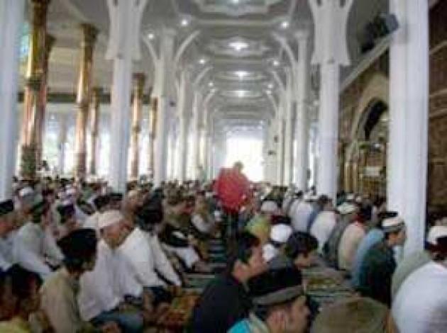 Baca 1 Juz Masjid Agung Jambi Diimami Dua Hidayatullah Masyarakat