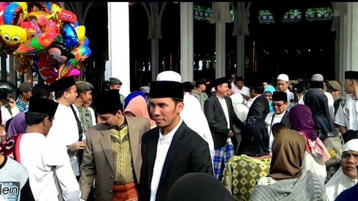 Edi Purwanto Bersama Gubernur Masjid Agung Al Falah Tribun Kota