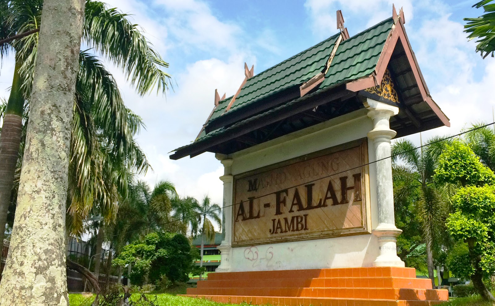 Jalan Kota Jambi Sehari Adambition Ulasan Foto Lengkap Mengenai Masjid
