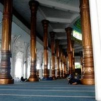 Masjid Agung Al Falah 1000 Tiang Jambi Kota