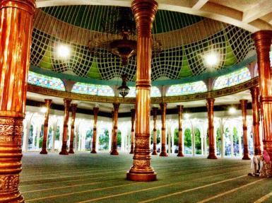 Masjid Agung Al Falah Jambi Daftar Nama Indonesia Kota Dibangun
