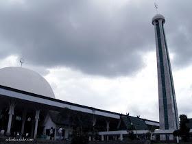 Masjid Agung Al Falah Jambi Seribu Tiang Afdhal Ilahi Kaligrafi