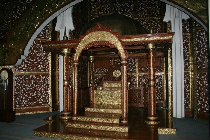 Masjid Agung Al Falah Jambi Tower Mosque Religious Centre Kota