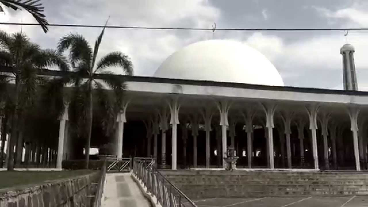 Masjid Agung Al Falah Jambi Youtube Kota