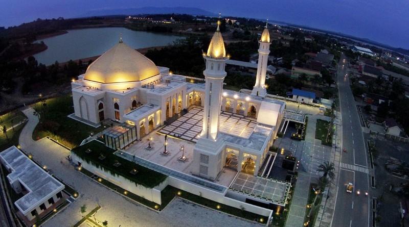 Masjid Agung Al Falah Kota Jambi Direktori Tempat Wisata Bangunan