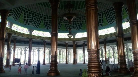 Masjid Seribu Tiang Picture Agung Al Falah Mosque Jambi Kota