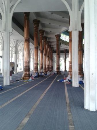 Masjid Seribu Tiang Picture Agung Al Falah Mosque Jambi Mesjid