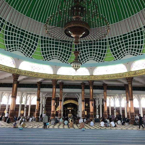 Photos Masjid Agung Al Falah Mosque Telanaipura Photo Eddy 3