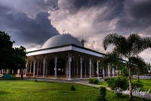 Rindu Masjid Agung Al Falah Jambi Seribu Tiang Sisi Lain