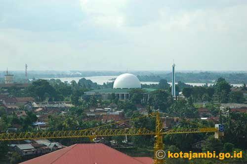 Rony Zone Masjid Agung Al Falah Jambi Roni Aerial View