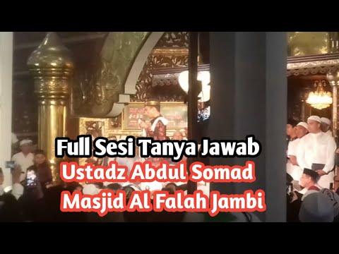 Sesi Tanya Jawab Ustadz Abdul Somad Masjid Agung Al Falah