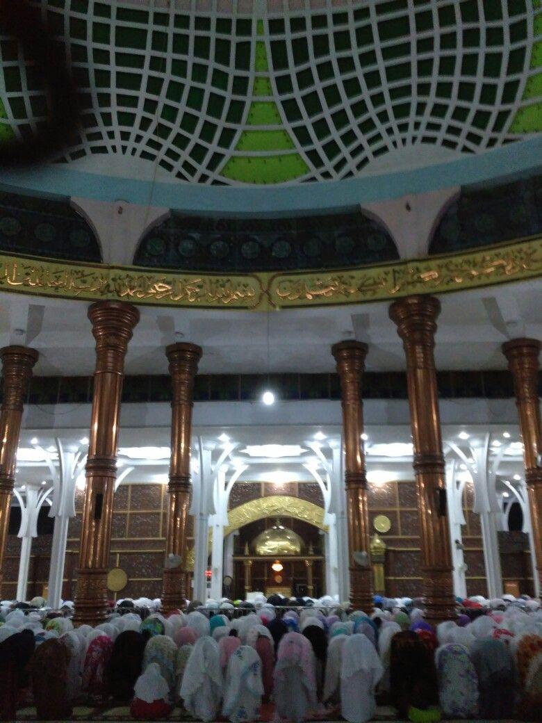 Tarawih Masjid Agung Al Falah Jambi Sumatra Pinterest Kota