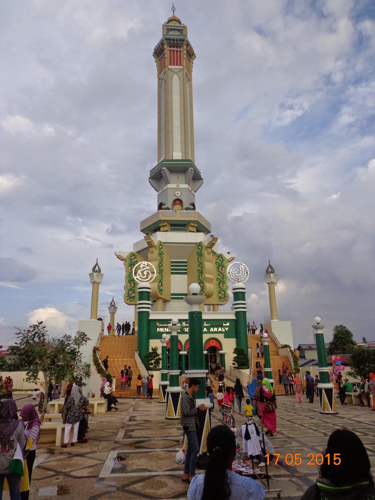 Blog Place Write Menara Gentala Arasy Ikon Kota Jambi