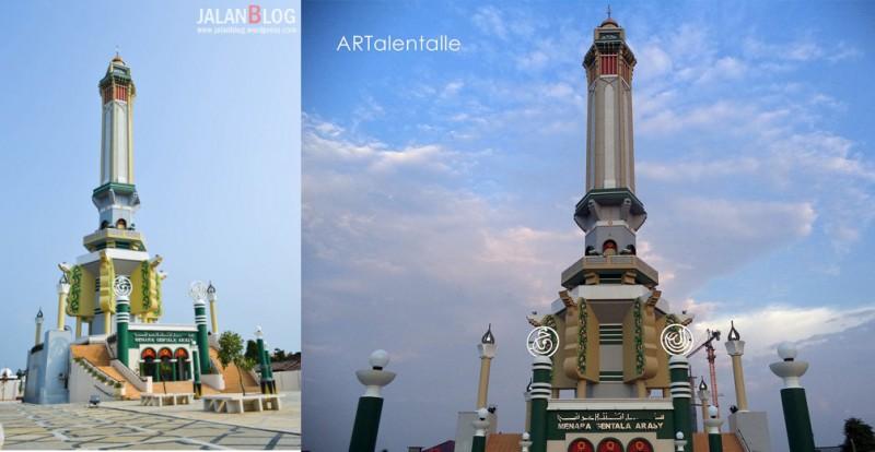 Indahnya Menara Gentala Arasy Metrojambi Berita Jambi Digital Kota