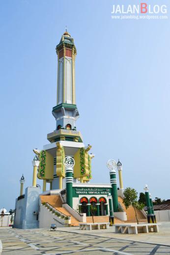 Kampung Wisata Icon Kota Jambi Jalanblog Lebih Dekta Menara Gentala