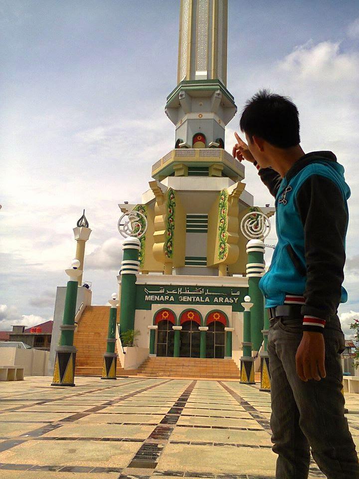 Kance Kite Menara Gentala Arasy Jambi Kota