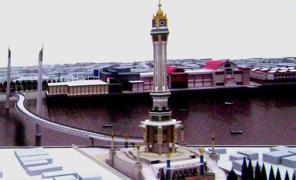 Menara Gentala Arasy Ikon Kota Jambi Pariwisata