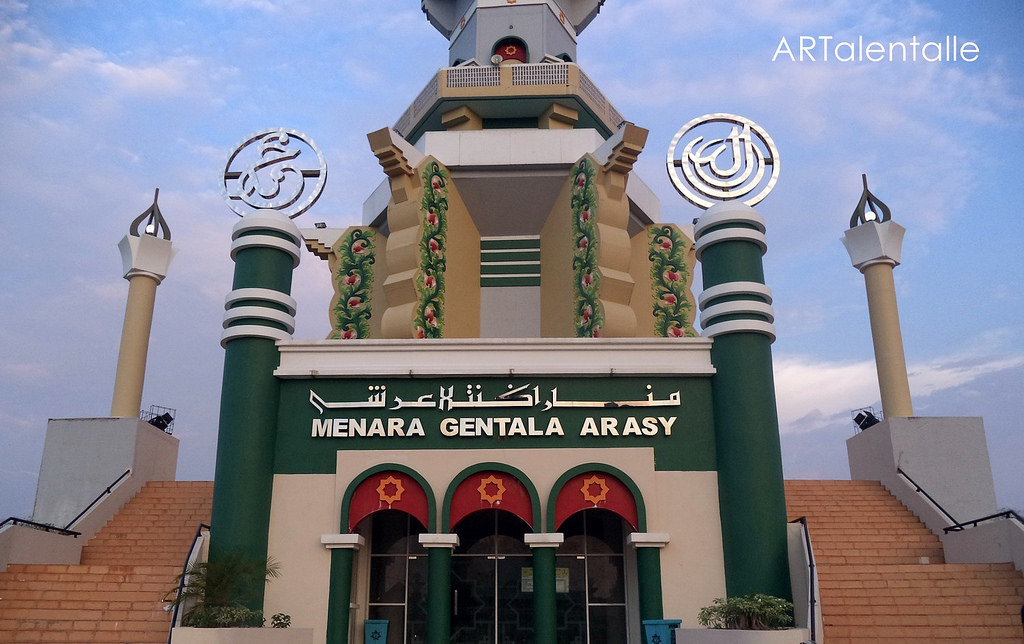 Menara Gentala Arasy Jambi Artalentalle Flickr Picture Kota