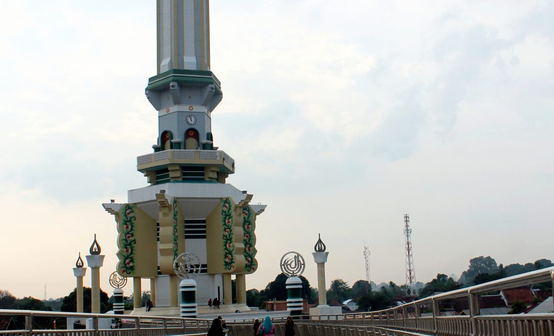 Menara Gentala Arasy Jambi Bacaekon Arsy Seberang Kota Dibuat Setinggi